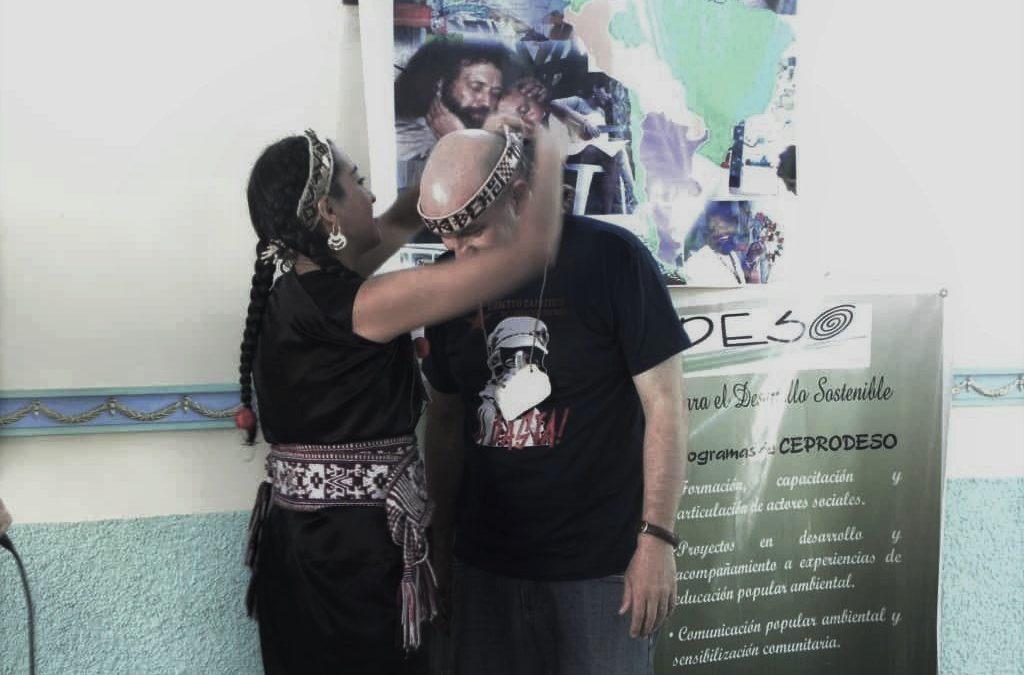 un trarilongko mapuche à cuba