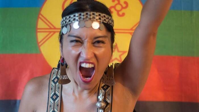 La weychafe Moira Millán sigue en resistencia
