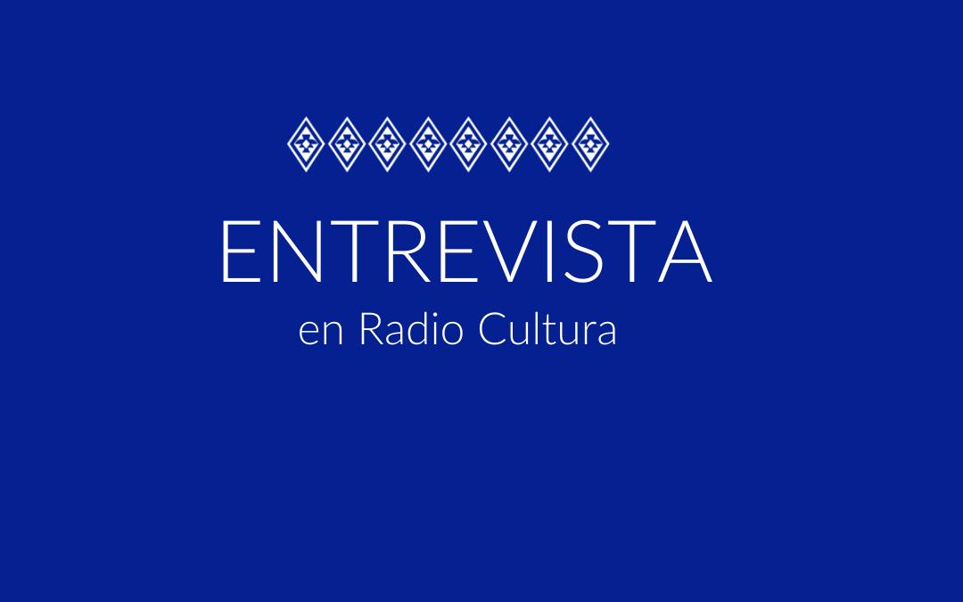 entrevista en radio cultura