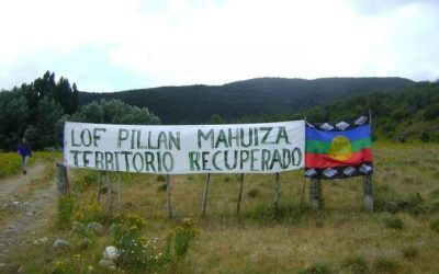 Lof Pillañ Mahuiza en alerta