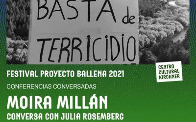 Conversatorio por Moira Millán en el Festival Proyecto Ballena 2021: T/TIERRA